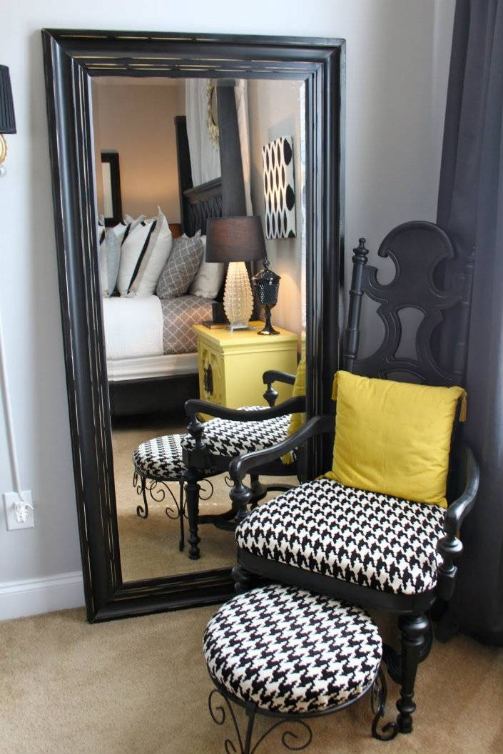15 Ideas of Large Wall Mirrors for Bedroom