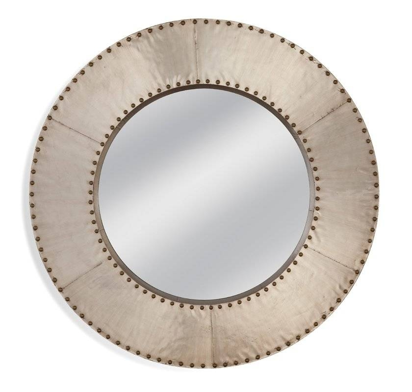 Inspiration about 17 Stories Round Metal Wall Mirror | Wayfair Throughout Round Metal Wall Mirrors (#8 of 15)