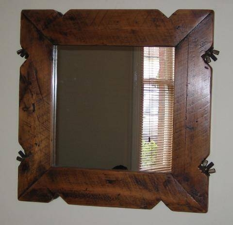 18 Best Mirror Mirror On The Wall Images On Pinterest | Mirror With Regard To Timber Mirrors (View 3 of 15)