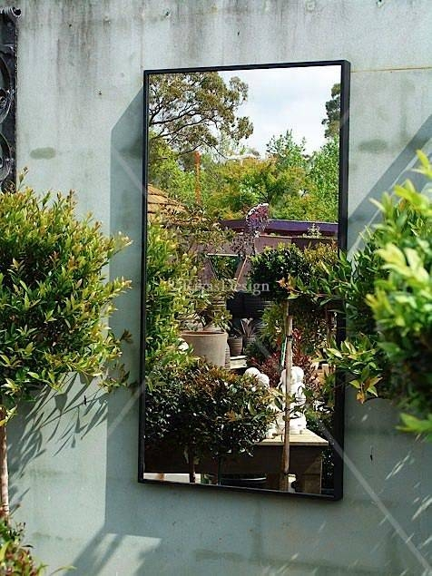 Inspiration about 18 Best Mirrors Images On Pinterest | Garden Mirrors, Gardening Throughout Outdoor Wall Mirrors (#2 of 15)