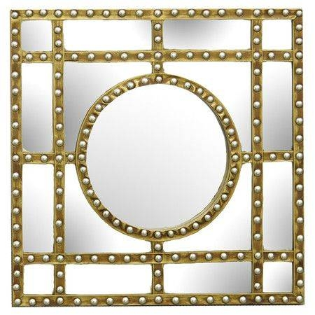 Inspiration about 186 Best Fun And Unusual Mirrors Images On Pinterest | Mirror Within Studded Wall Mirrors (#10 of 15)