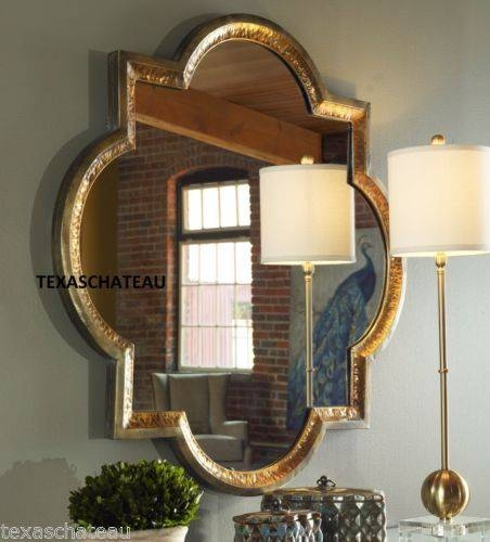Inspiration about 190 Best Quatrefoil Pattern Images On Pinterest | Quatrefoil Intended For Quatrefoil Wall Mirrors (#7 of 15)
