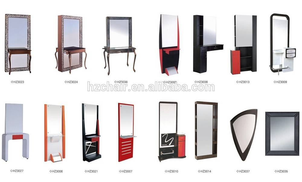 Inspiration about 2015 Hot Sale Good Quality Beauty Salon Styling Stations Salon Intended For Hairdressing Mirrors For Sale (#13 of 15)