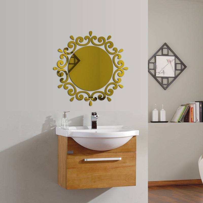 Inspiration about 2017 New Hot Wall Stickers Acrylic Mirror Stickers Home Decor 3D Regarding Acrylic Wall Mirrors Stickers (#9 of 15)