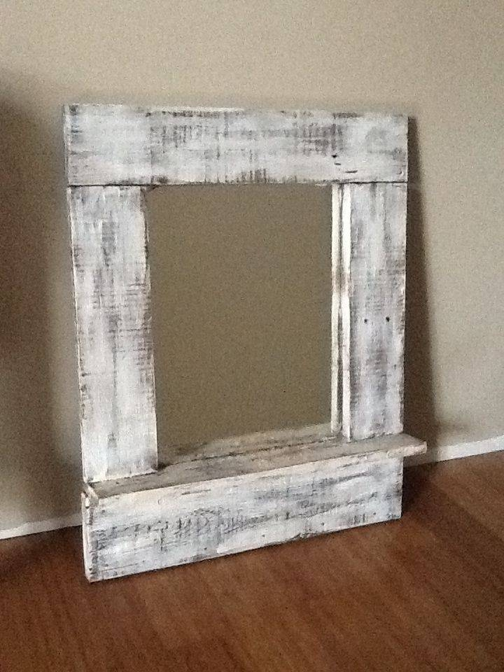 21 Best Pallet Mirrors Images On Pinterest | Pallet Mirror Pertaining To Vintage Wood Mirrors (#1 of 15)