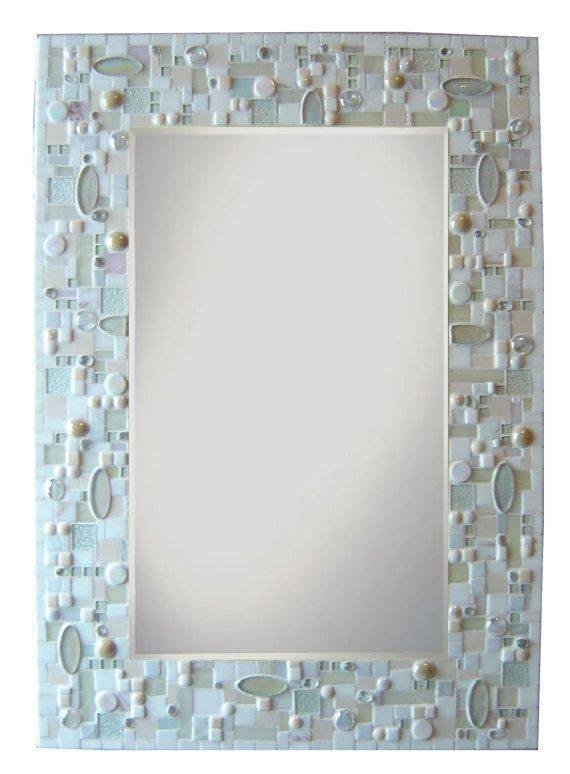 Inspiration about 2192 Best Mosaic Mirrors Images On Pinterest | Mosaic Mirrors Pertaining To Glass Mosaic Wall Mirrors (#14 of 15)