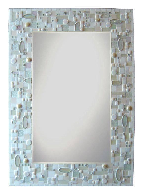 2192 Best Mosaic Mirrors Images On Pinterest | Mosaic Mirrors Pertaining To Glass Mosaic Wall Mirrors (#3 of 15)
