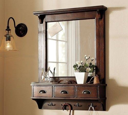 Inspiration about 22 Best Hallways Images On Pinterest | Coat Racks, Entry Coat With Coat Rack Wall Mirrors (#6 of 15)