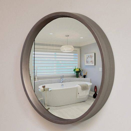 22 Best Round Wall Mirrors Images On Pinterest | Wall Mirrors Within Flat Wall Mirrors (#1 of 15)