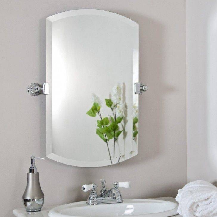 23 Best Bathrooms Images On Pinterest | Bathroom Wall, Frame Intended For Large Wall Mirrors Without Frame (#1 of 15)