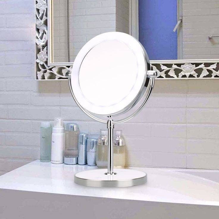 Inspiration about 23 Best Makeup Mirror Images On Pinterest | Cable, Led Lamp And With Regard To Magnifying Vanity Mirrors For Bathroom (#5 of 15)