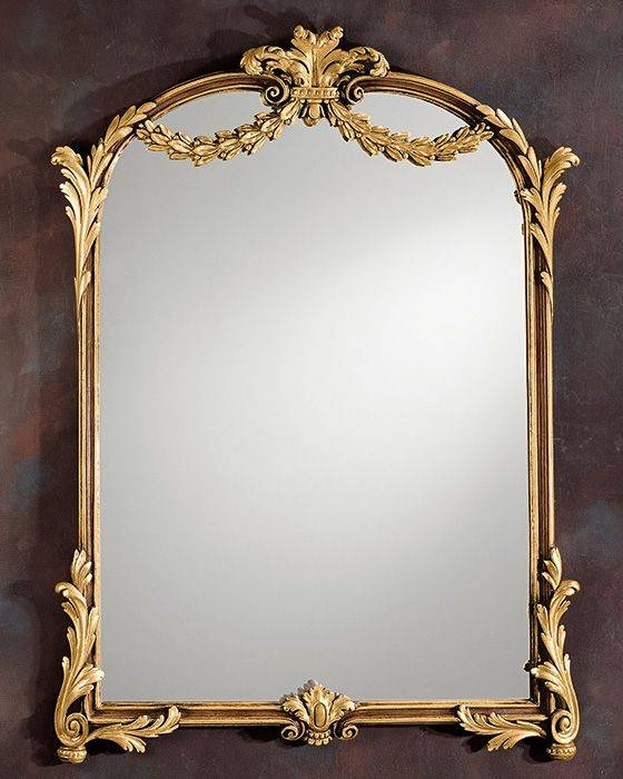 Inspiration about 235 Best Mirrors Images On Pinterest | Wall Mirrors, Manor Houses In Gold Framed Wall Mirrors (#13 of 15)