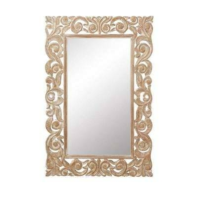 24 X 36 – Mirrors – Wall Decor – The Home Depot With Wall Mirrors 24 X (View 12 of 15)