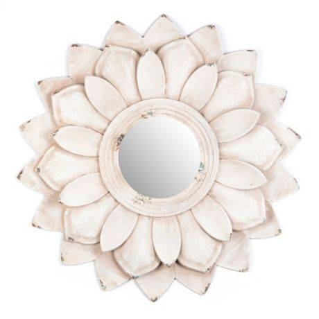 Popular Photo of Flower Wall Mirrors