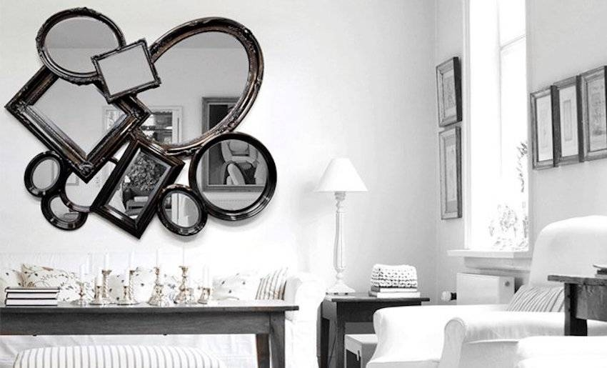 Inspiration about 25 Stunning Wall Mirrors Décor Ideas For Your Home Intended For Black Decorative Wall Mirrors (#3 of 15)