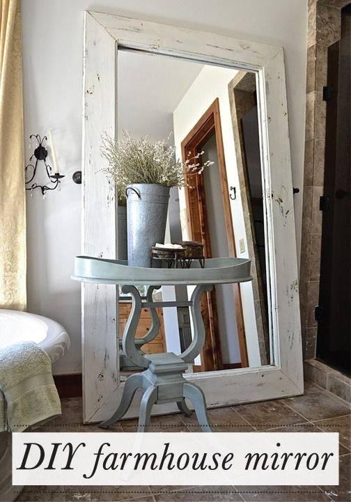 25+ Unique Diy Mirror Ideas On Pinterest | Spare Bedroom Ideas In Diy Large Wall Mirror (#2 of 15)
