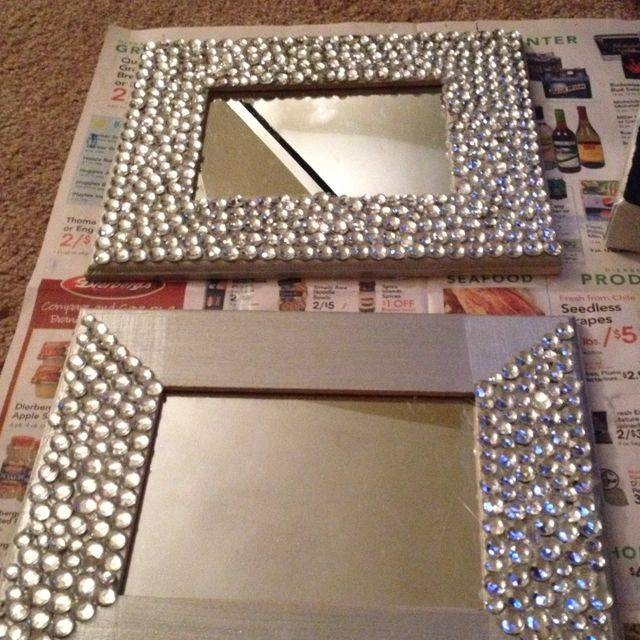 Inspiration about 25+ Unique Diy Mirror Ideas On Pinterest | Spare Bedroom Ideas Throughout Diy Wall Mirrors (#11 of 15)