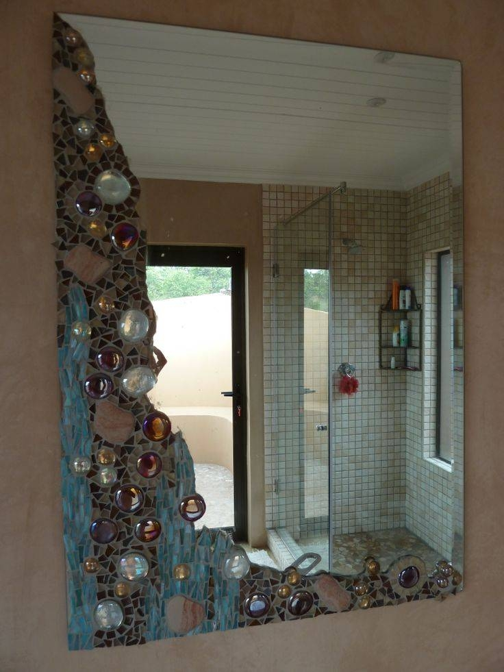 Inspiration about 25+ Unique Mosaic Mirrors Ideas On Pinterest | Mosaic Art, Mosaic Regarding Glass Mosaic Wall Mirrors (#15 of 15)