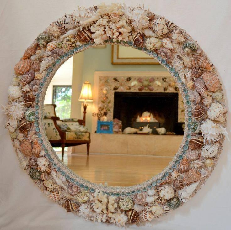 25+ Unique Shell Mirrors Ideas On Pinterest | Sea Shell Mirrors Regarding Seashell Wall Mirrors (#4 of 15)