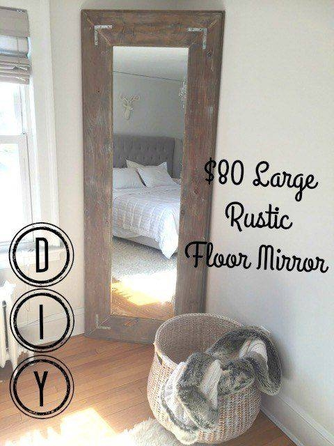 25+ Unique Wall Mirrors Diy Ideas On Pinterest | Spray Paint Intended For Diy Large Wall Mirror (#5 of 15)
