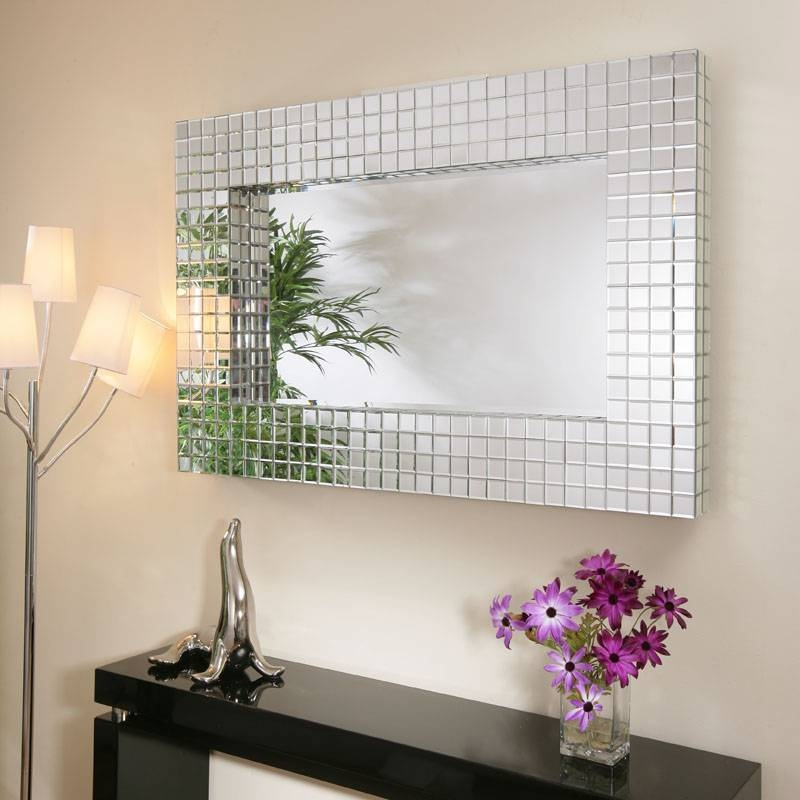 Inspiration about 28+ [ Modern Rectangular Wall Mirror ] | Pu068 Modern Glam Throughout Modern Rectangular Wall Mirrors (#12 of 15)