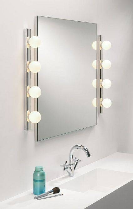 Inspiration about 29 Best Mirror Light Images On Pinterest | Bathroom Lighting For Wall Mirrors With Light Bulbs (#5 of 15)