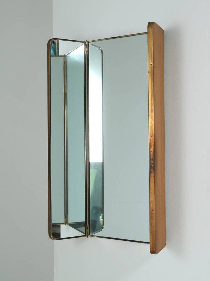 Inspiration about 293 Best Ffe | Mirror Images On Pinterest | Mirror Mirror, Mirrors Throughout Folding Wall Mirrors (#1 of 15)