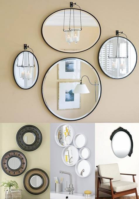 Inspiration about 3 Wall Mirrors | Makitaserviciopanama With Set Of 3 Wall Mirrors (#1 of 15)