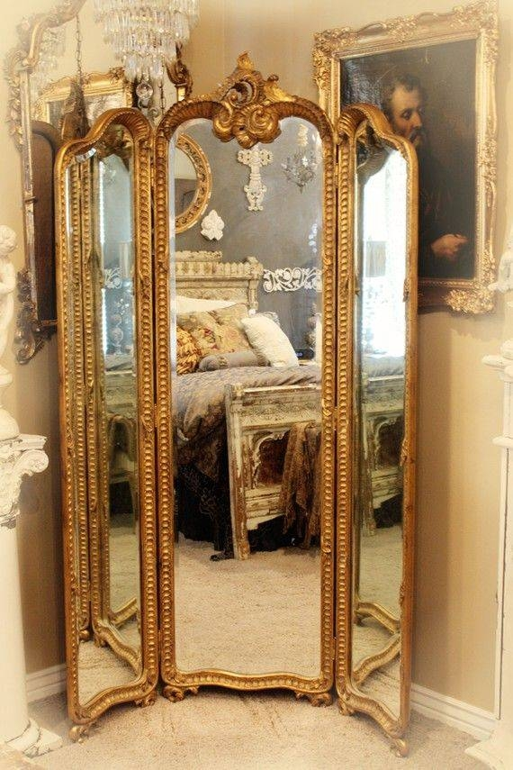 334 Best Mirrors, Mirrors On The Wall Images On Pinterest | Mirror Pertaining To Three Way Wall Mirrors (#3 of 15)