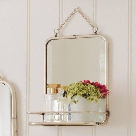 35 Best Mirrors Images On Pinterest | Mirror Mirror, Bathroom In Wall Mirrors With Shelf (#1 of 15)