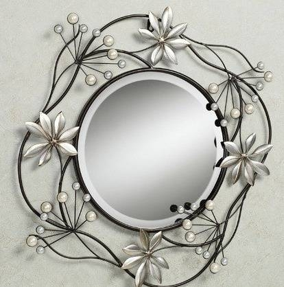 Inspiration about 350 Best Fabulous Mirrors Images On Pinterest | Mirror Mirror Inside Iron Wall Mirrors (#15 of 15)