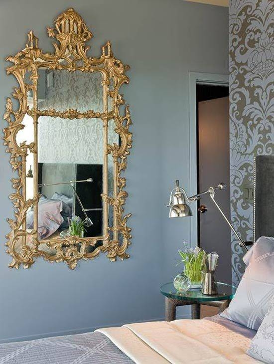 Inspiration about 396 Best Mirrors, Images On Pinterest | Mirror Mirror, Mirrors And Regarding Damask Mirrors (#12 of 15)