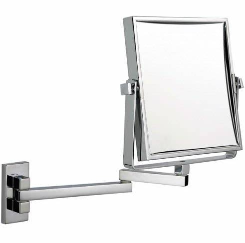 3X Mag Wall Mounted Extendable Mirror At Executive Shaving With Regard To Extendable Wall Mirrors (#1 of 15)