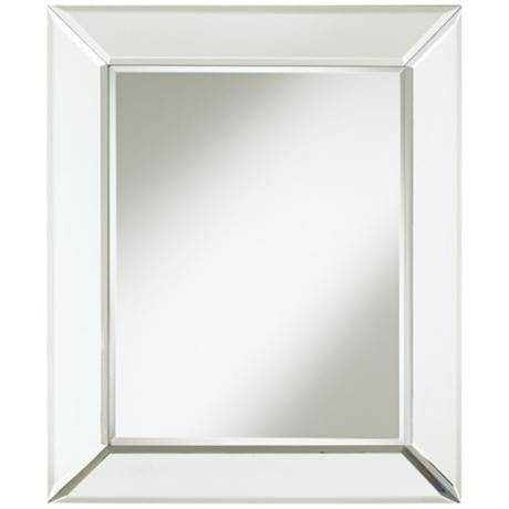 41 Best Mirrors Images On Pinterest   Wall Mirrors, Bathroom Throughout Frameless Beveled Wall Mirrors (#3 of 15)