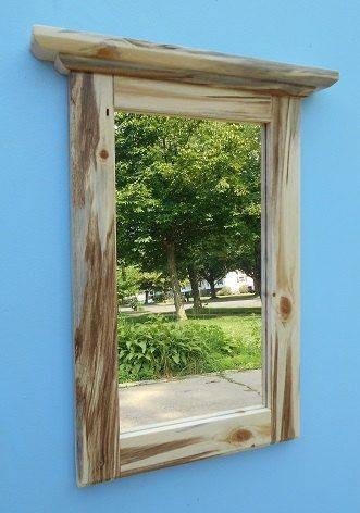 Inspiration about 41 Best Rustic Framed Mirrors Images On Pinterest | Framed Mirrors In Pine Wall Mirrors (#5 of 15)