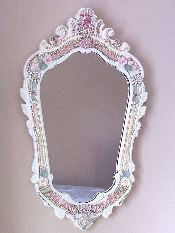 Inspiration about 43 Best Mirrors Images On Pinterest | Mirror Mirror, Decorative For Pink Wall Mirrors (#14 of 15)