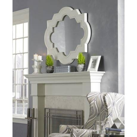 434 Best Mirrors Images On Pinterest | Mirror Mirror, Beautiful Throughout White Decorative Wall Mirrors (#2 of 15)