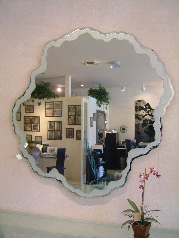 44 Best Custom Mirrors Images On Pinterest | Custom Mirrors Regarding Decorative Etched Wall Mirrors (#1 of 15)