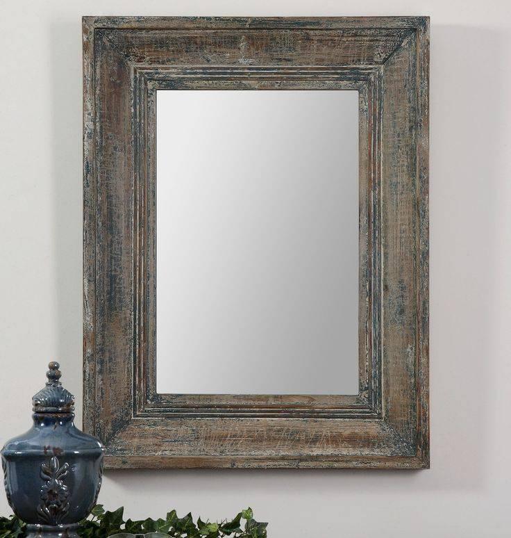 46 Best Art, Mirrors & Clocks Images On Pinterest | Clocks, Home With Distressed Wood Wall Mirrors (View 3 of 15)