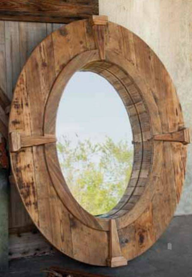 480 Best Framed Images On Pinterest | Pallets, Wood And Mirror Ideas Within Beech Wood Framed Mirrors (#4 of 15)