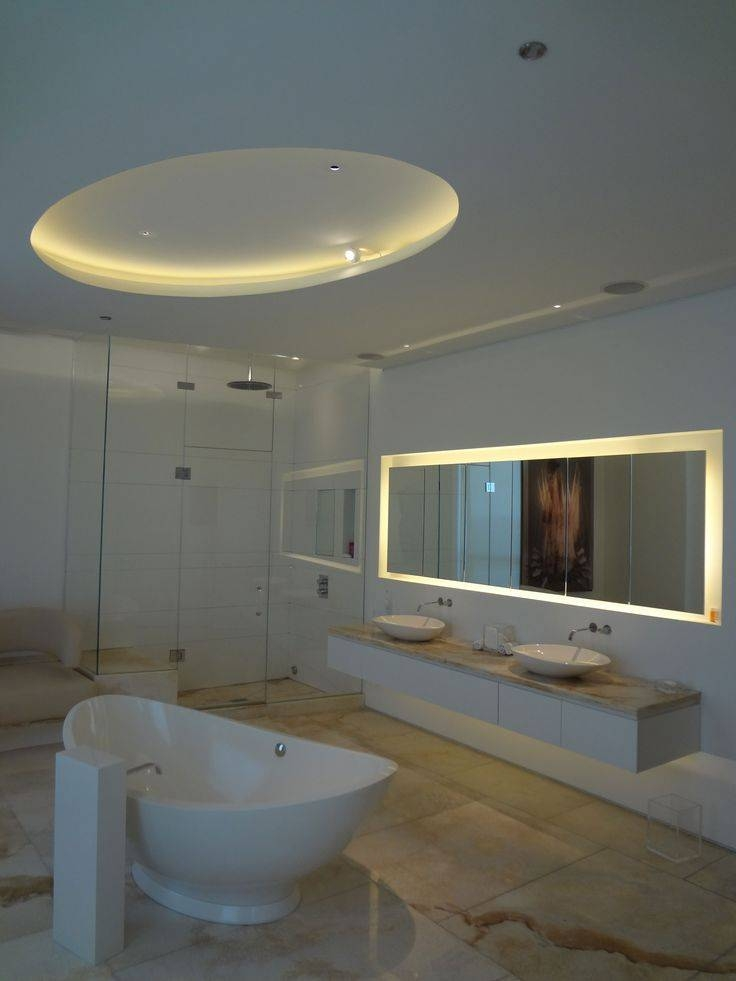 50 Best • Inspiration • Bathroom Lighting Ideas Images On Inside Led Strip Lights For Bathroom Mirrors (#3 of 15)