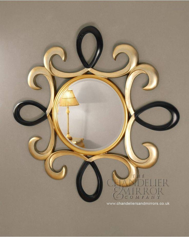 555 Best Round Mirrors✨ Images On Pinterest | Mirrors, Mirror Pertaining To Swirl Wall Mirrors (View 15 of 15)
