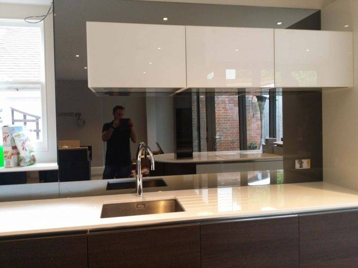 58 Best Toughened Mirror Splashback Images On Pinterest | Mirror Intended For Kitchen Wall Mirrors (#1 of 15)