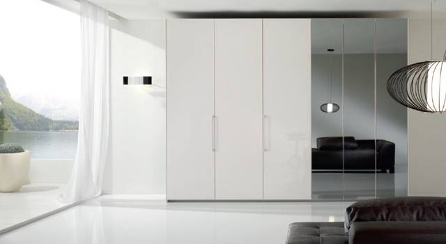 Inspiration about 6 Doors Modern Bedroom Closet Bony Mirrorspar, Italy In Modern Bedroom Mirrors (#5 of 15)
