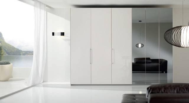 6 Doors Modern Bedroom Closet Bony Mirrorspar, Italy In Modern Bedroom Mirrors (#1 of 15)