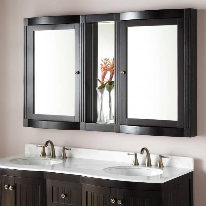 """60"""" Palmetto Medicine Cabinet – Bathroom With Regard To Bathroom Vanity Mirrors With Medicine Cabinet (#3 of 15)"""