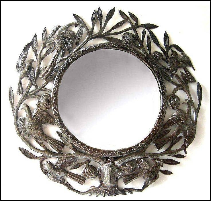 65 Best Mirrors – Metal Mirrors – Metal Wall Decor Images On Inside Metal Wall Mirrors (View 13 of 15)