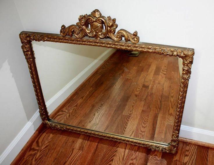 Popular Photo of Vintage Wood Mirrors
