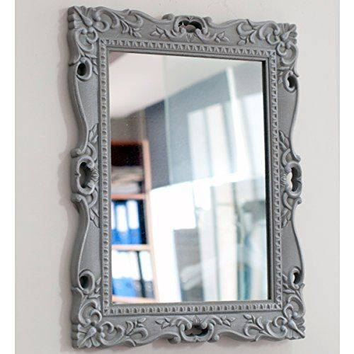 7 Best Ideas For The House Images On Pinterest | Dove Grey, French Pertaining To Painted Wall Mirrors (#4 of 15)