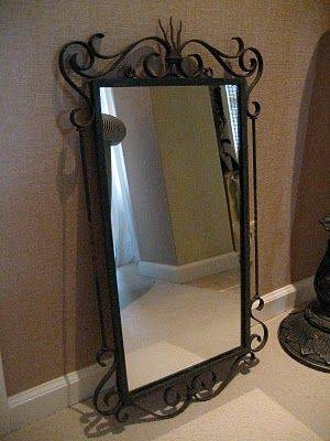 70 Best Wrought Iron Mirrors Images On Pinterest | Wrought Iron In Wrought Iron Wall Mirrors (#3 of 15)